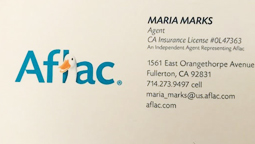 Maria Marks Aflac Insurance