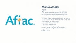 Maria Marks Aflac Agent