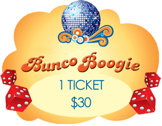 Bunco Booogie Ticket $30