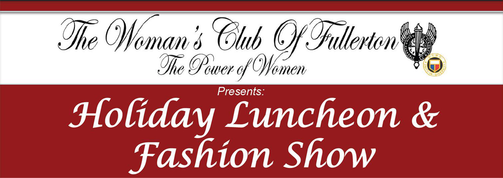 WCOF Holiday Luncheon and Fashion Show