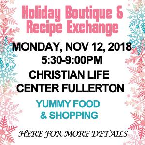 Holiday Boutique WCOF
