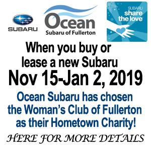 Subaru Fullerton Share The Love Event