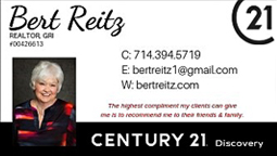 Bert Rietz Century 21
