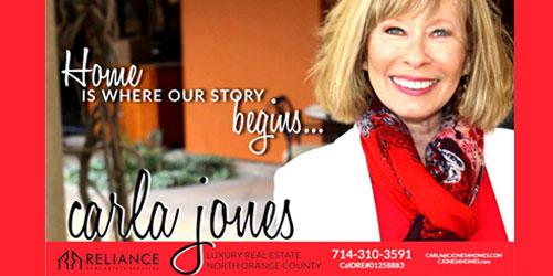 Carla Jones Realtor Fulleton CA