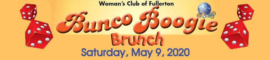 Woman's Club of Fullerton Bunco Boogie May 9 2020