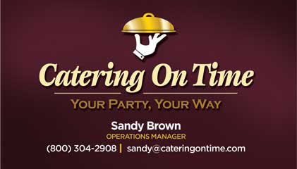 Catering On Time