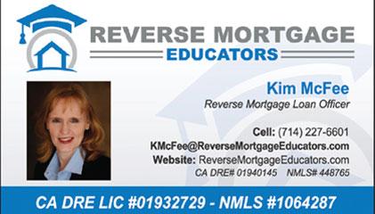 Kim McFee Reverse Mortgage