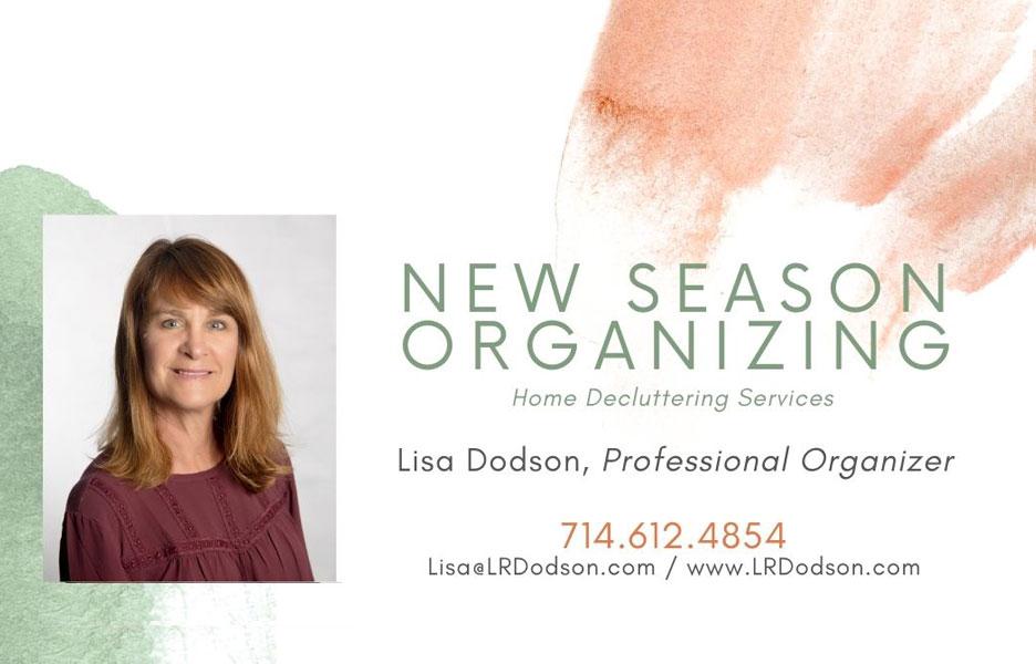 New Season Organizing